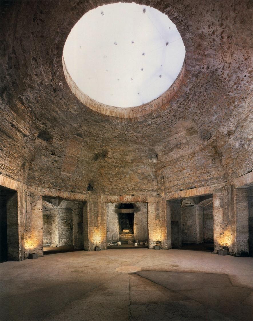 the Octagonal Room at Nero's Domus Aurea