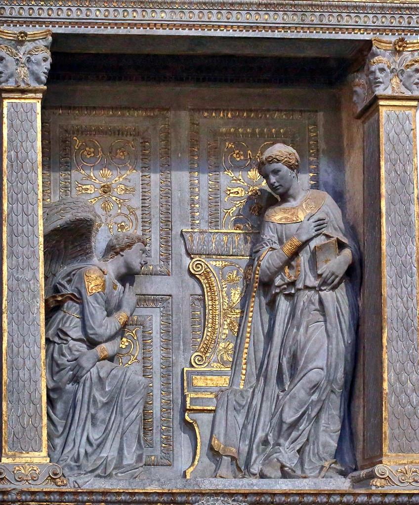 Donatello's Annunciation Tabernacle