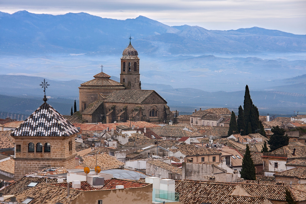the Renaissance town of Ubeda