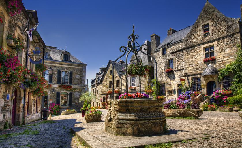 Rochefort-en-Terre, in Brittany