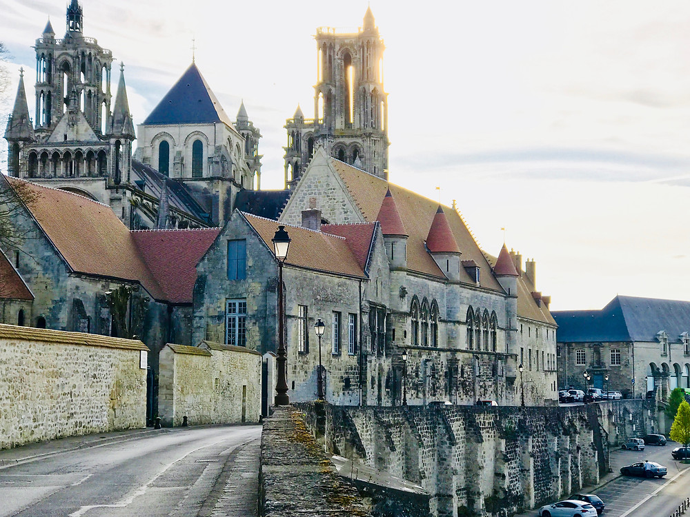 the authentic medieval town of Laon in the Picardy region of France