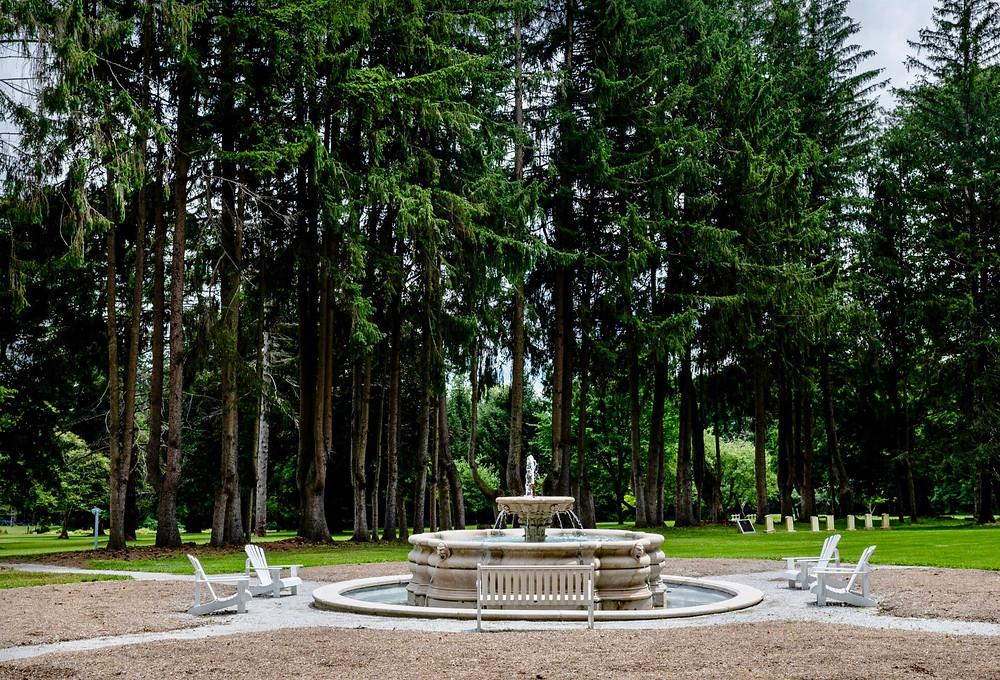 fountain in Lennox