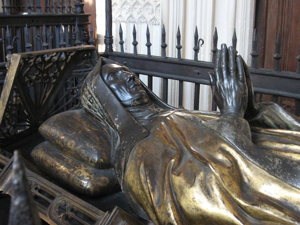 Margaret Beaufort's tomb in the Henry VII Chapel