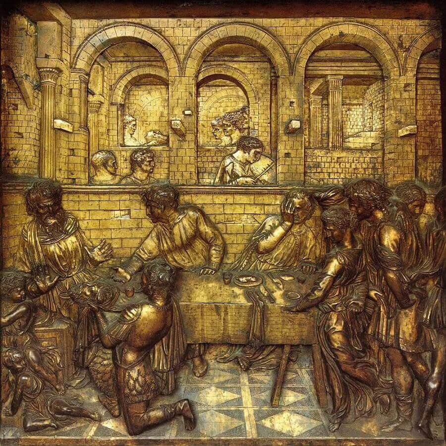 Donatello's Feast of Herod