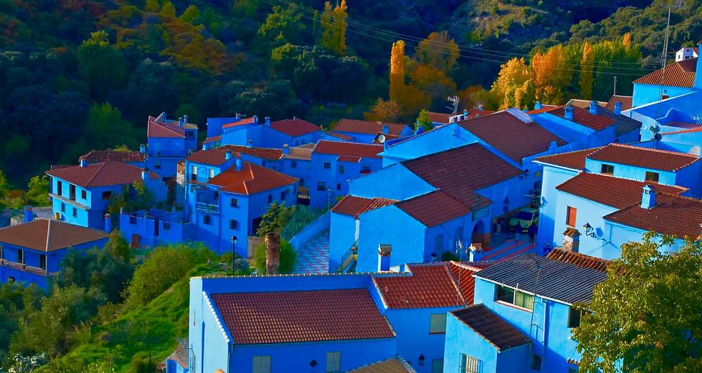 the blue village of Juzcar
