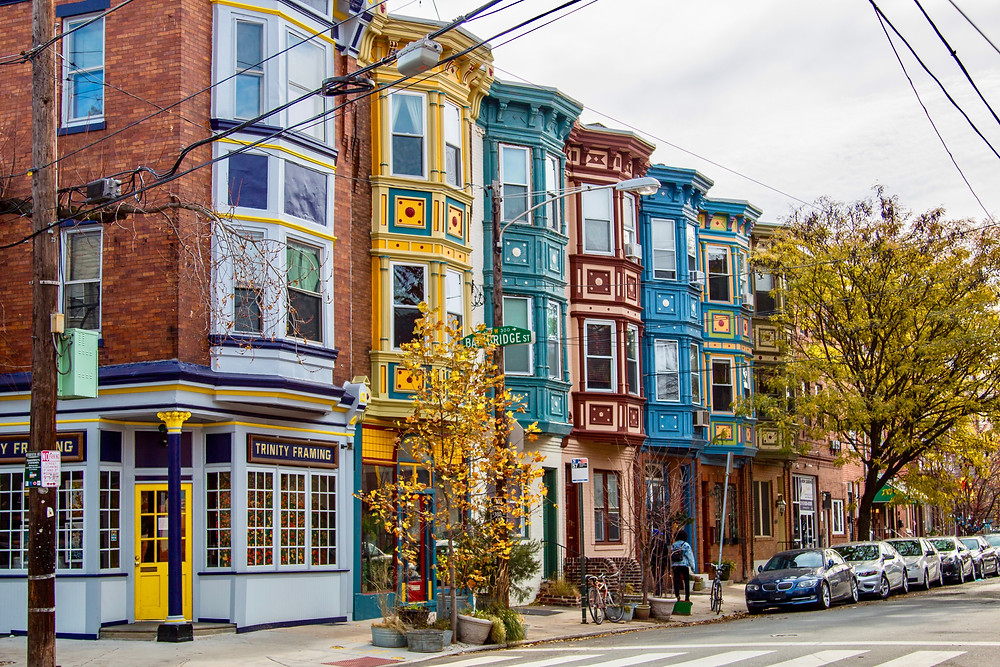 beautiful homes on South Street