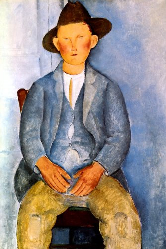 The Peasant Boy, 1918, Amedeo Modigliani