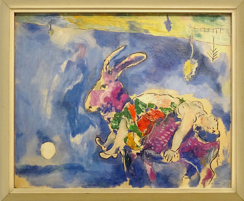 Le Reve by Marc Chagall, 1927