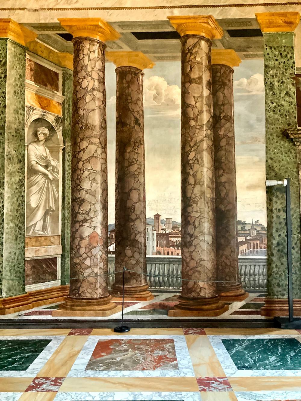 Room of the Perspectives in Villa Farnesina