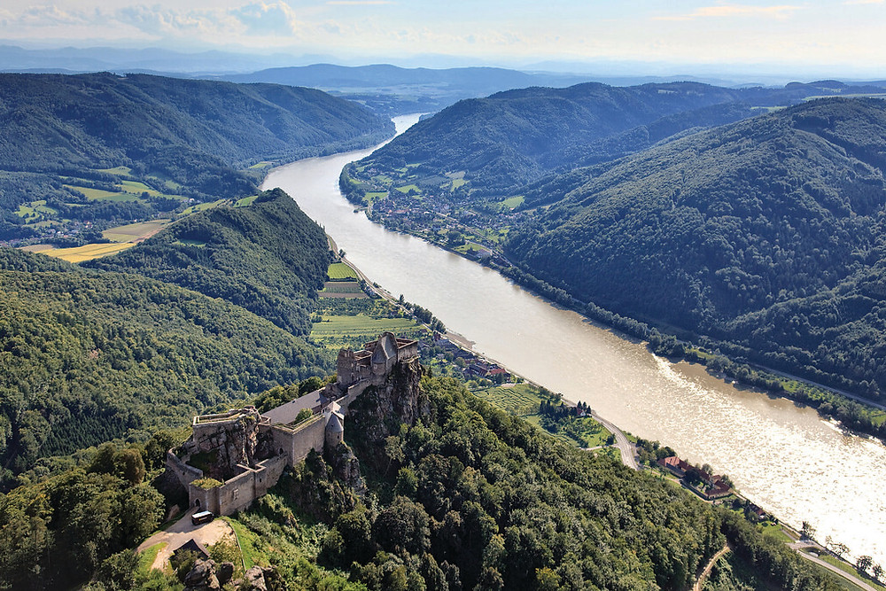 a picturesque castle in the Wachau Valley