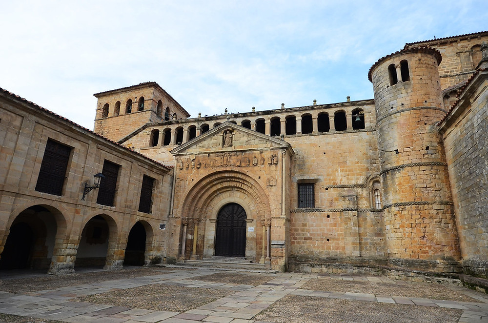 the Colegiata in Santillana del Mar