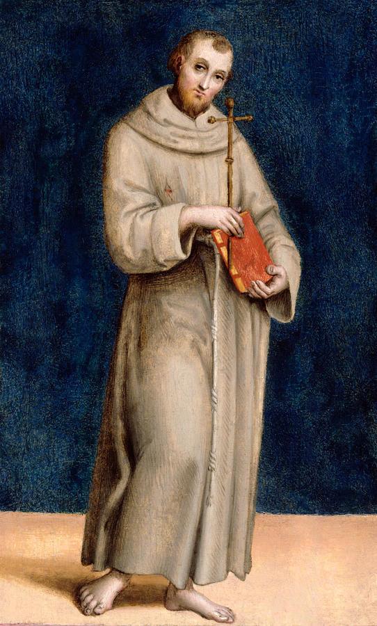 Raphael's portrait of St. Francis