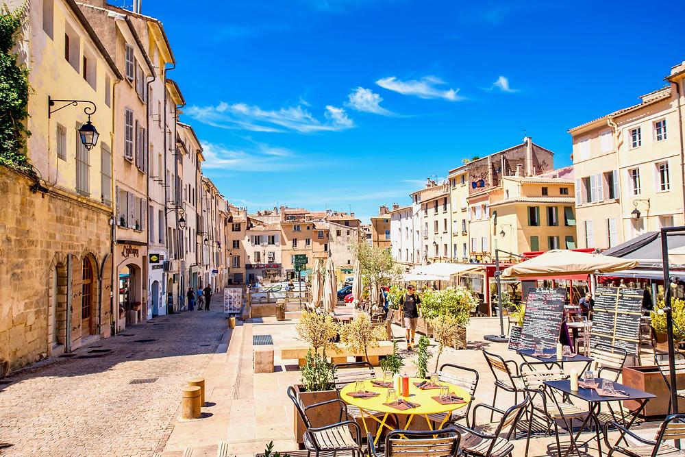 Cardeurs Square in Aix-en-Provence