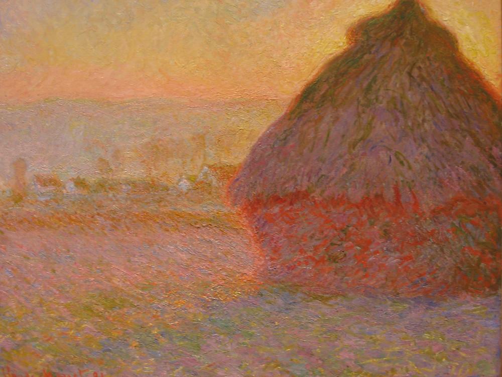 Monet, Haystacks, Pink and Blue Impressions, 1891