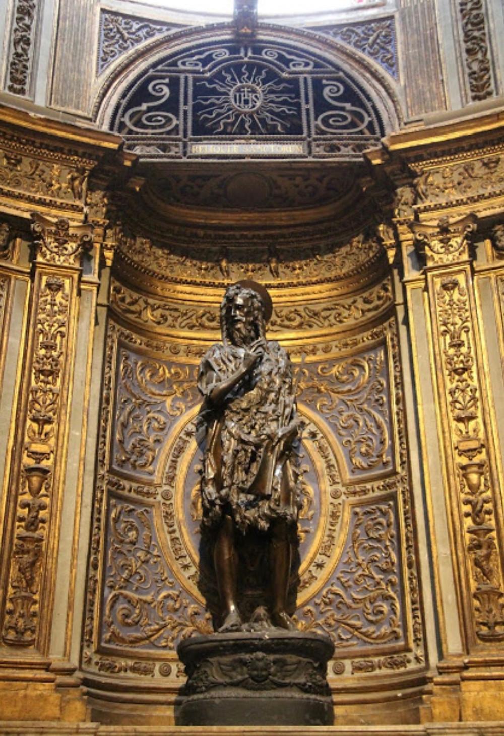 Donatello, St. John the Baptist, 1457