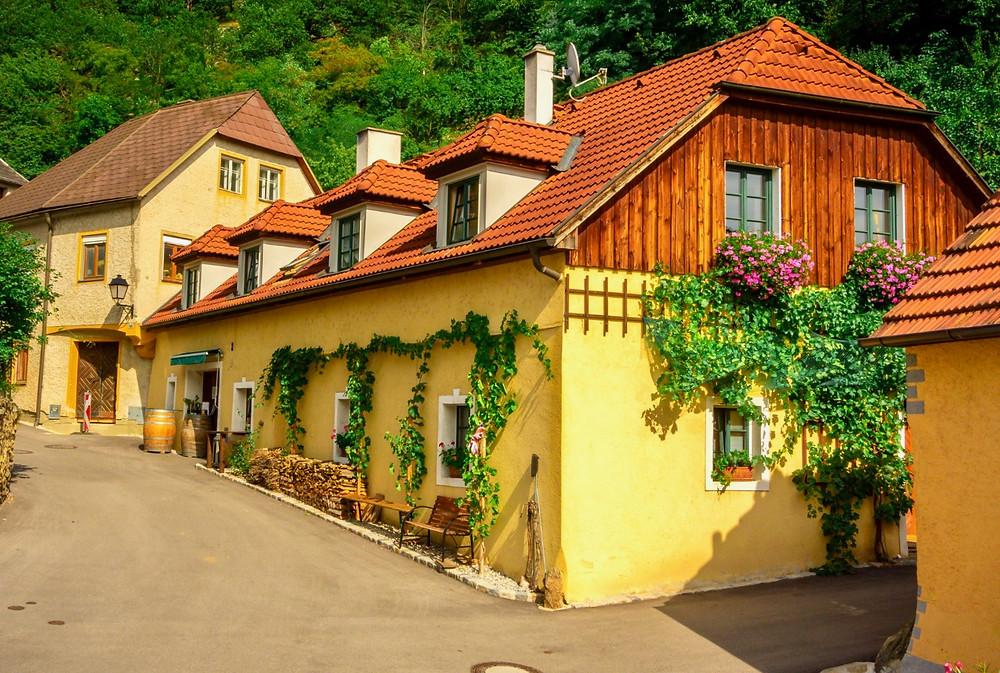 pretty houses in Krems