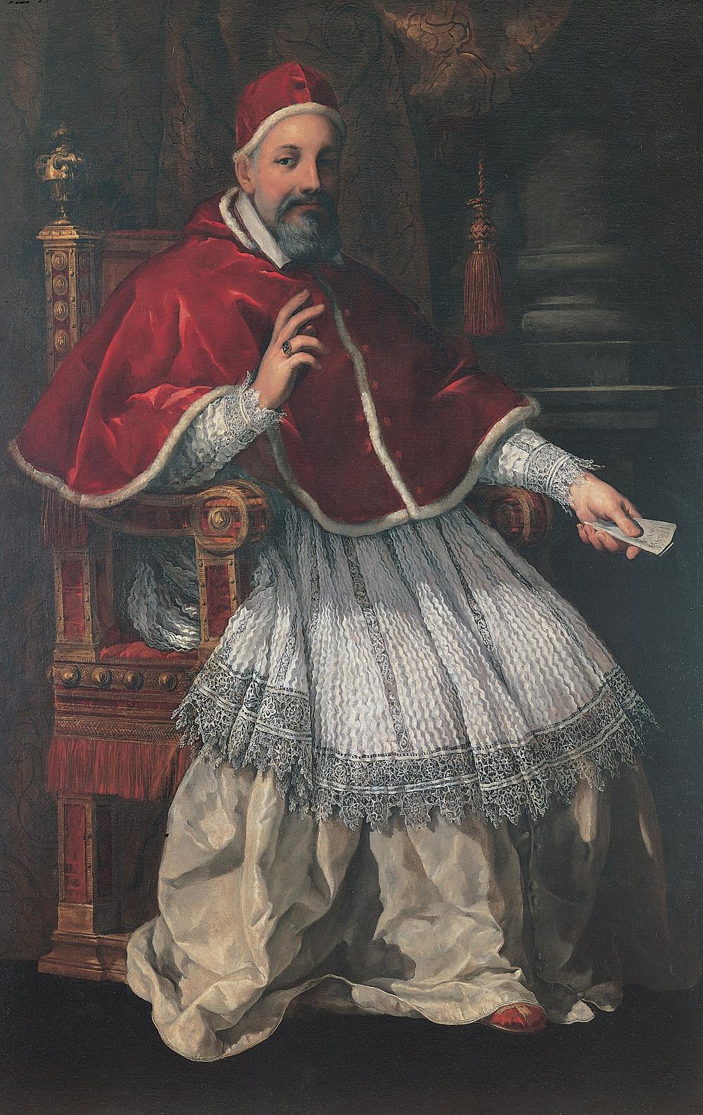 Pietro da Cortona, Pope Urban VIII, 1624-27