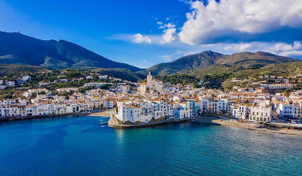 the pretty town of Cadaques