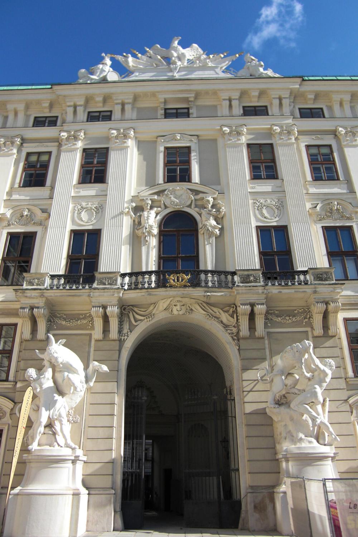 entrance to the Hofburg Palace