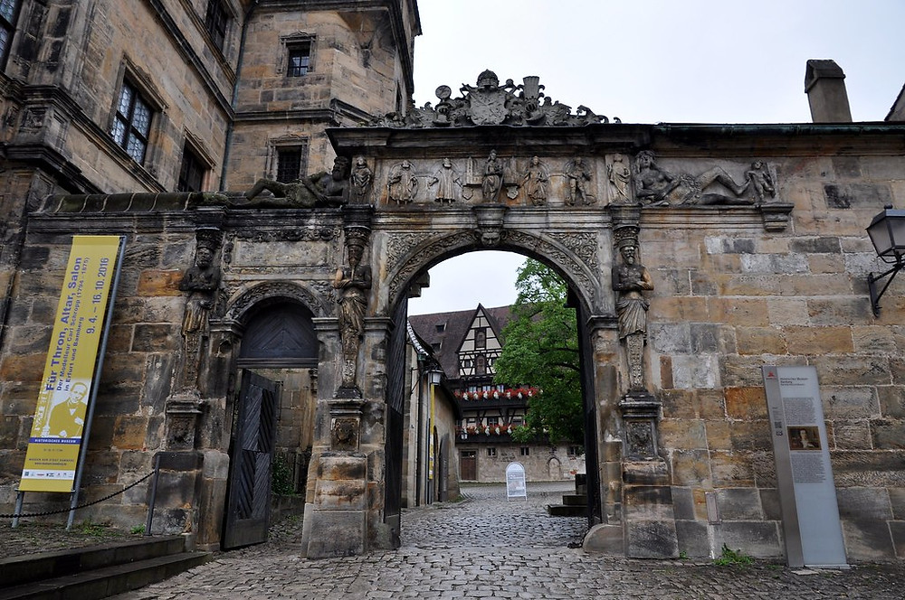 gateway to the Old Courtyard in Bamberg