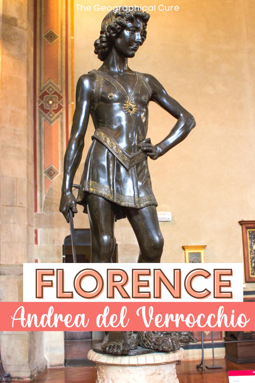 guide to the sculptures of Andrea del Verrochio