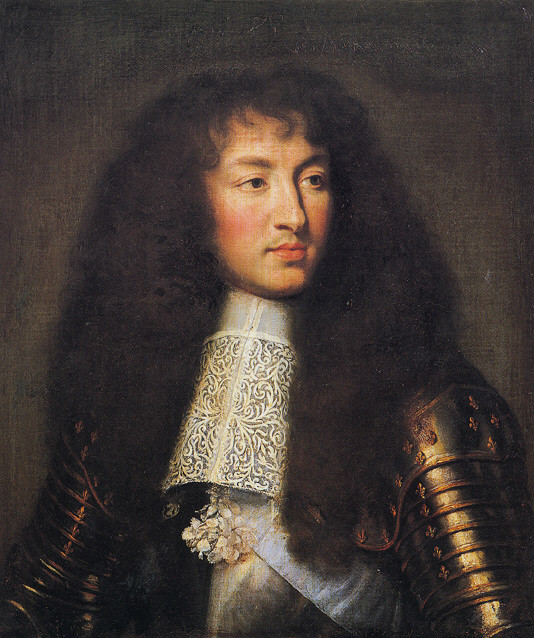 France's King Louis XIV, one of King Ludwig II's muses
