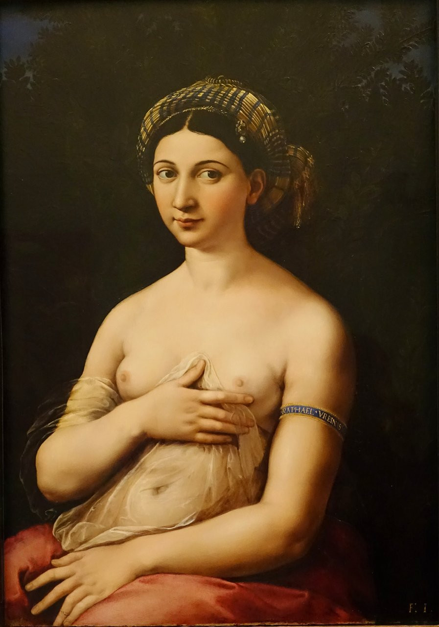 Raphael, Fornarina, 1518-20