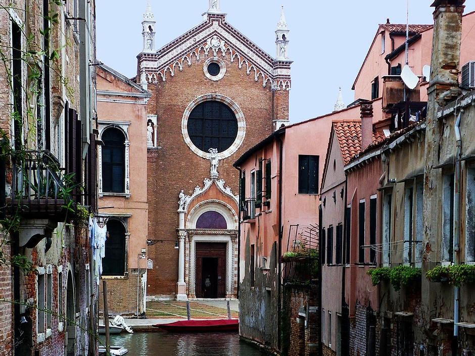 the Church of Madonna dell'Orto in Cannaregio
