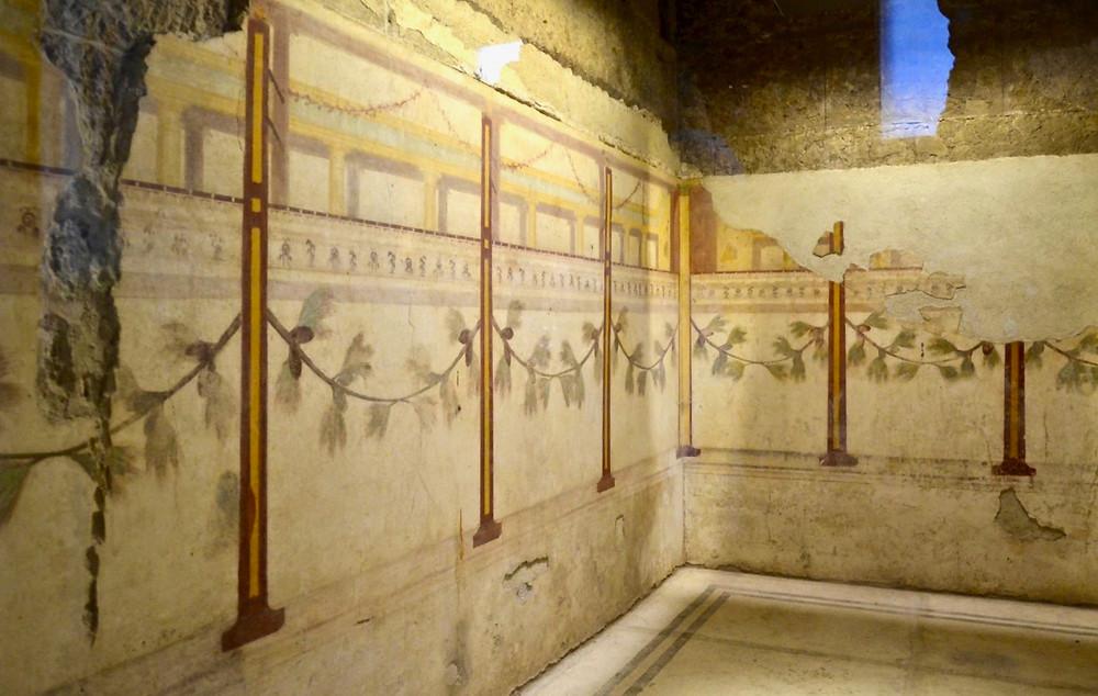 fresco in the Room of the Pine Festoon