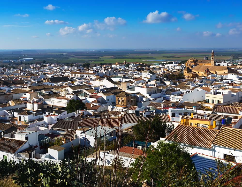 cityscape of Osuna Spain