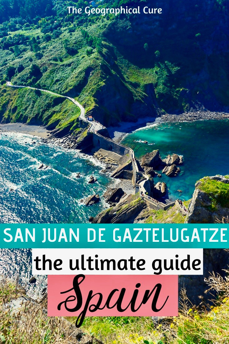 San Juan de gaztelugatxe, an unmissable on the Basque coast of northern Spain