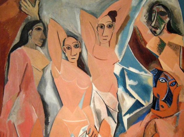 Pablo Picasso, Desmoiselles D'Avignon, 1907