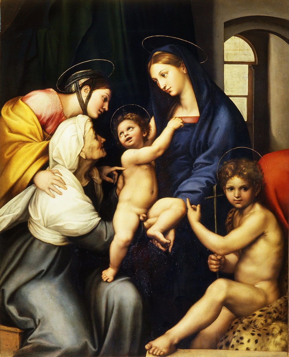 Raphael madonna in the Pitti Palace