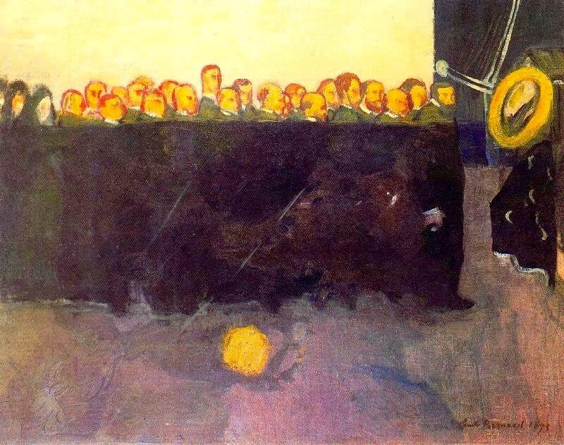 Émile Bernard, Van Gogh's Funeral