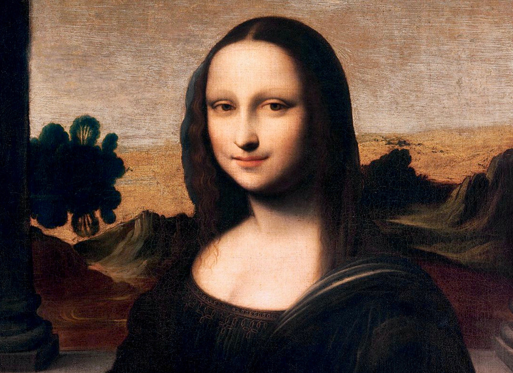 """a possible earlier version of the Mona Lisa (the """"Isleworth Mona Lisa""""), ca 1503-1506"""