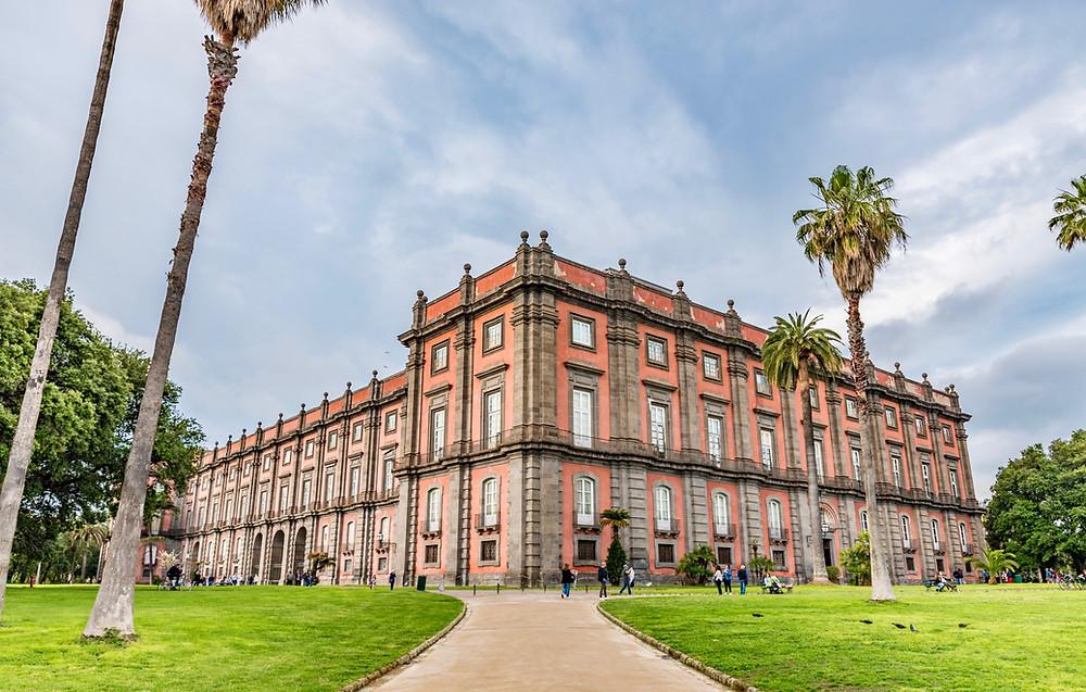 the Museo e Real Bosco di Capodimonte, in Naples Italy