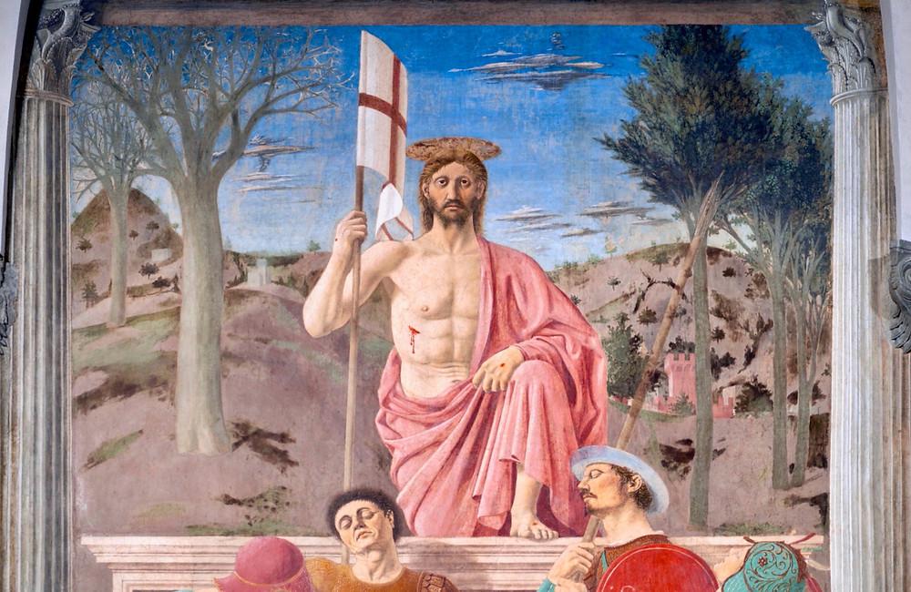 Piero della Francesca, The Resurrection, 1463
