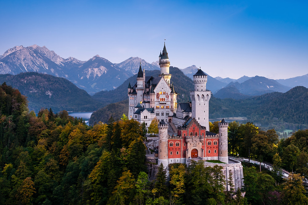 another view of Neuschwanstein Castle