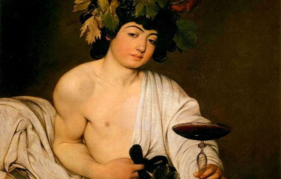 Caravaggio, Bacchus, 1596