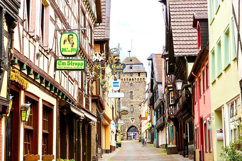 old town of Linz Austria