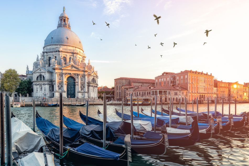 La Salute on the Grand Canal