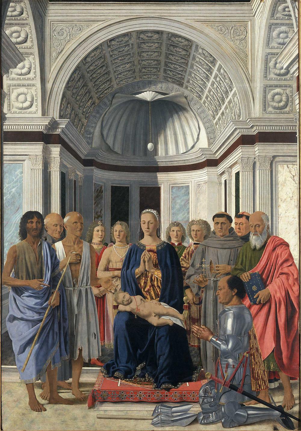 Piero della Francesca, Montefeltro Altarpiece, 1472-74