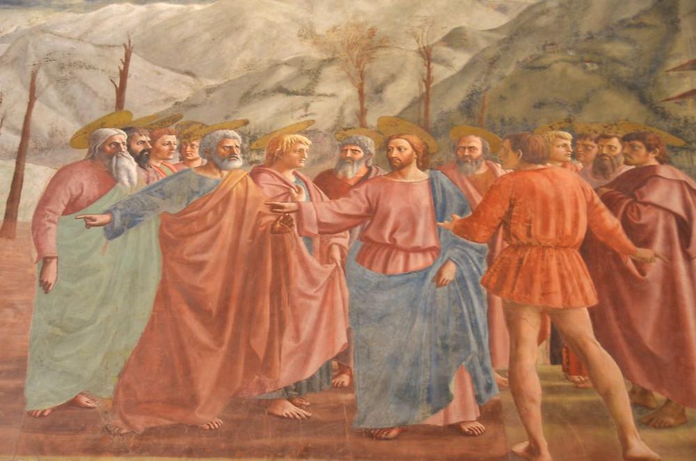Masaccio, The Tribute Money, 1425
