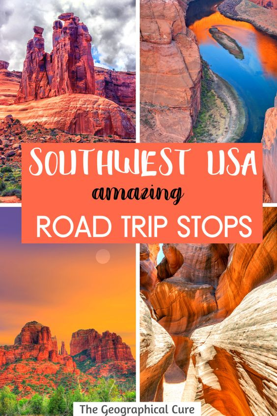Best Road Trips Stops in the American Southwest
