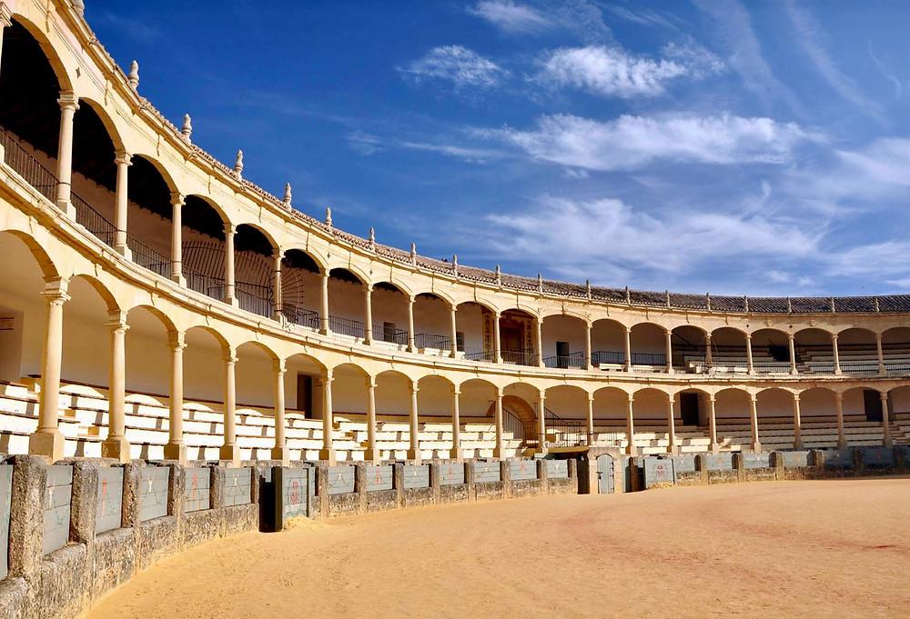 bullring in Ronda