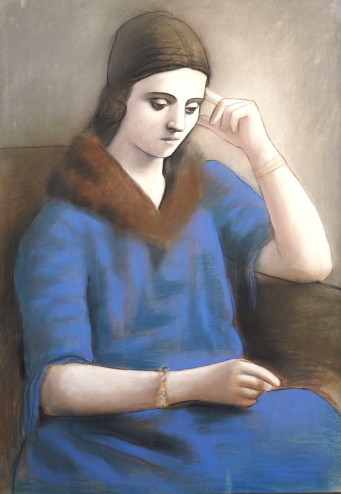 Pablo Picasso, Olga Pensive, 1923