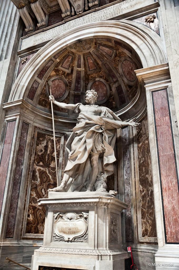 Bernini's St. Longinus