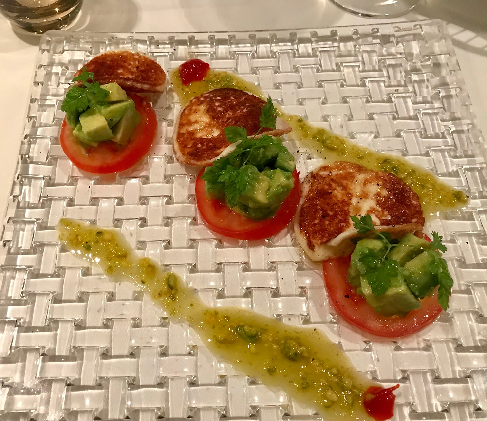 a beautiful caprese type salad that I had at Limoni in Munich