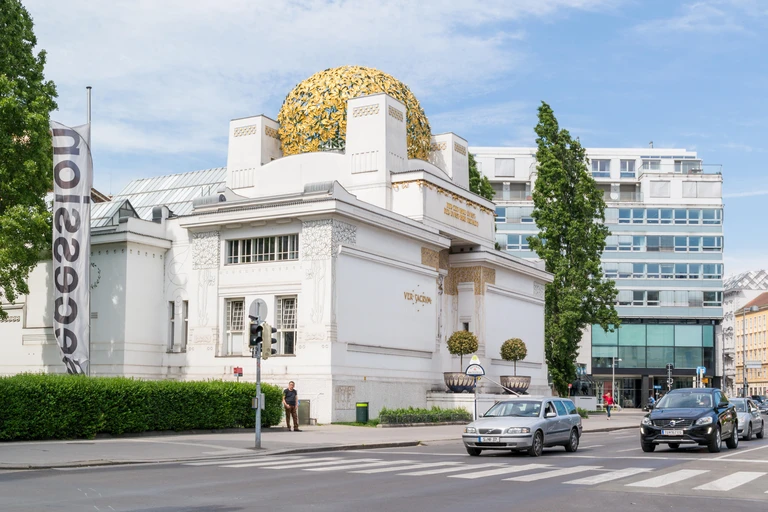the Vienna Secession Museum