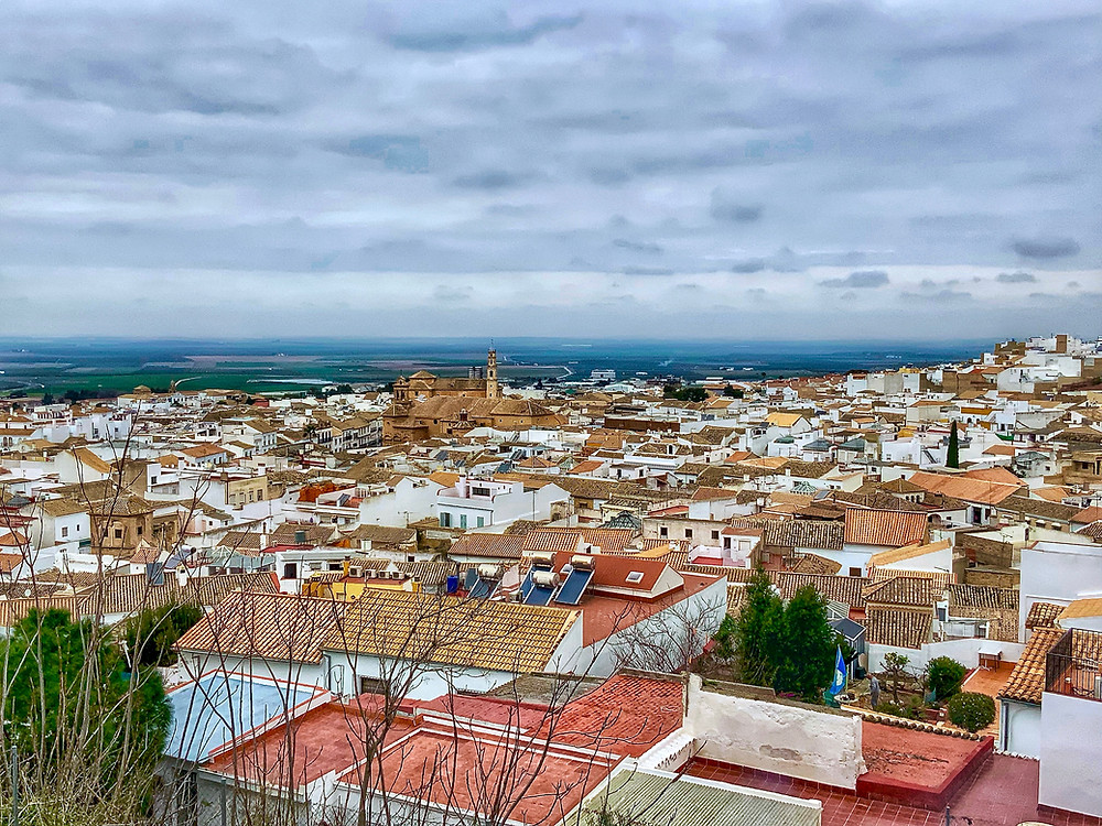 views of Osuna from the upper town